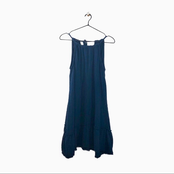 Anthropologie Dresses & Skirts - CLOTH & STONE Gauze Dress Halter Indigo S